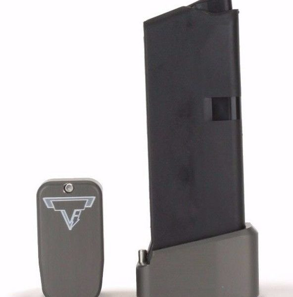 Taran Tactical Base Pad for Glock 43 +2